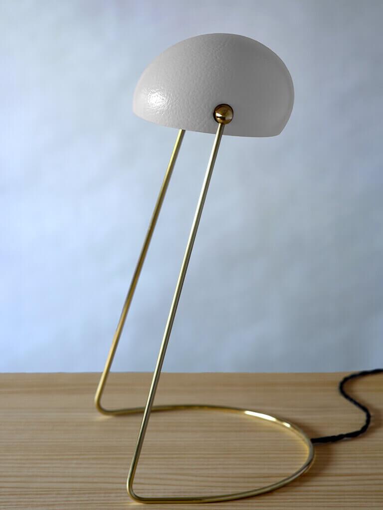 O lamp white