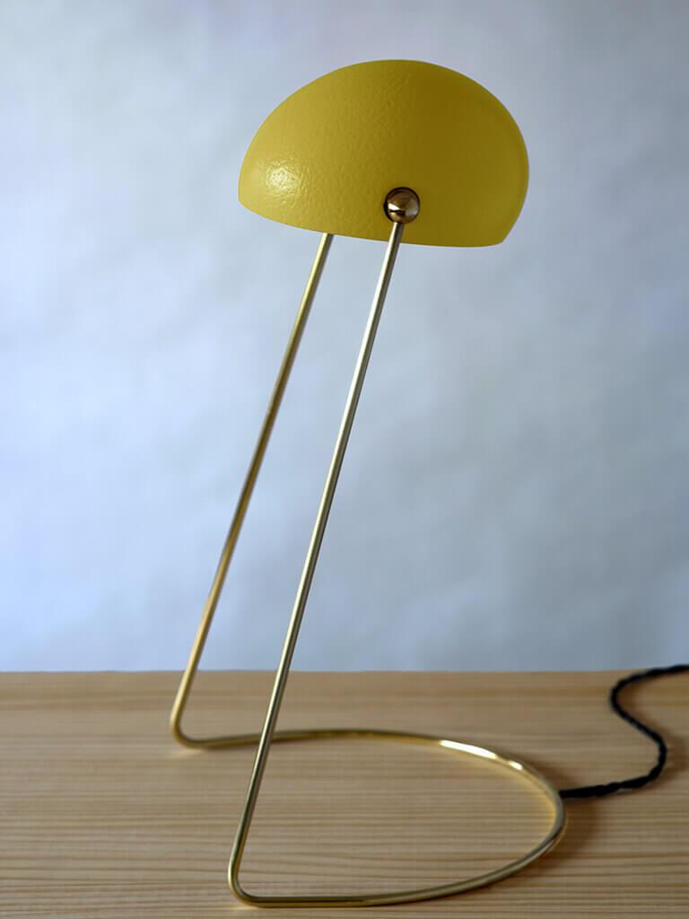 O lamp yellow
