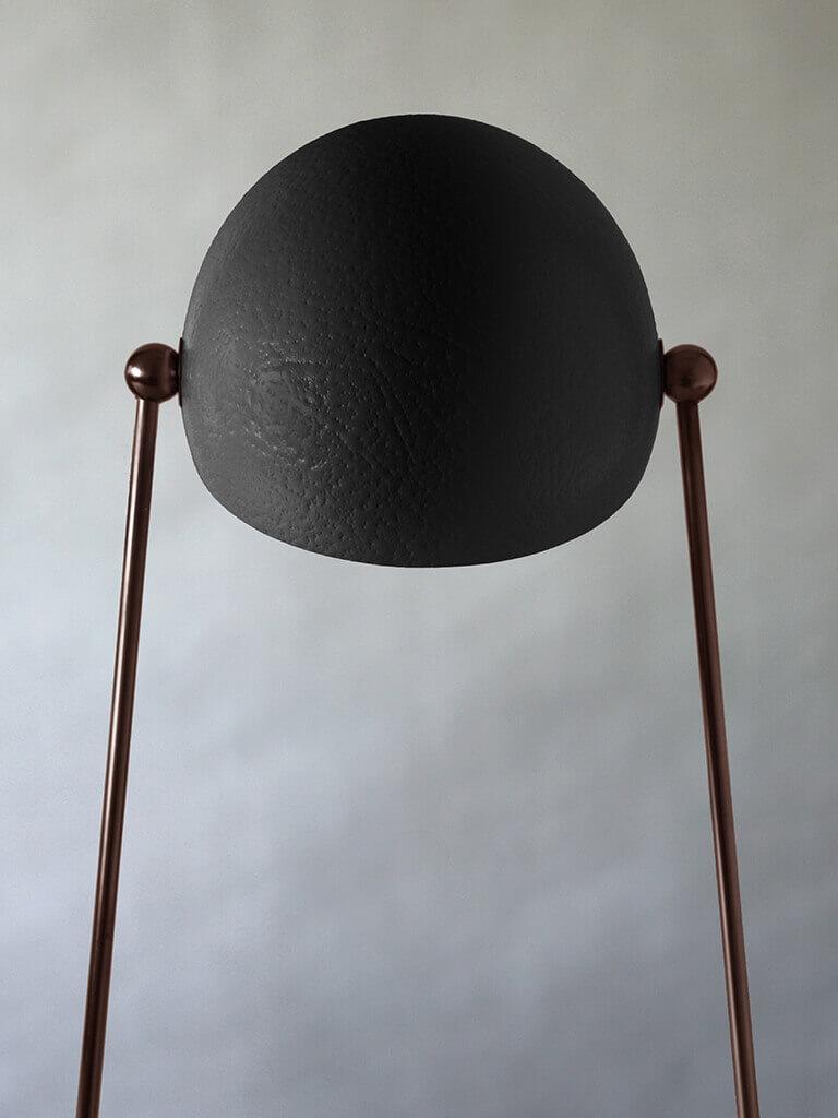 O' lamp black